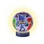 Ravensburger-11771 3D Jigsaw Puzzle with LED - PJ Masks