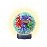 Ravensburger-11773 3D Jigsaw Puzzle with LED - PJ Masks