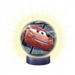 Ravensburger-11818 3D Jigsaw Puzzle with LED - Cars 3