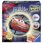 Ravensburger-11820 3D Puzzle with LED - Cars 3