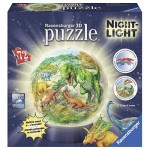 Ravensburger-11822 3D Jigsaw Puzzle with LED - Dinosaurs
