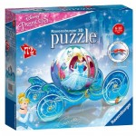 Ravensburger-11823 3D Jigsaw Puzzle - Disney Princess