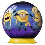 Ravensburger-11826 3D Puzzle-Ball - Minions