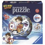 Ravensburger-11828 3D Jigsaw Puzzle - Yo-Kai Watch