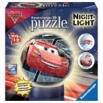 Ravensburger-11833 3D Jigsaw Puzzle with LED - Cars 3