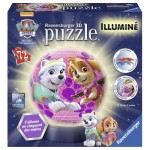 Ravensburger-11839 3D Jigsaw Puzzle with LED - Paw Patrol