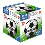 Ravensburger-11937-02 3D Puzzle-Ball - 1974 Fifa Word Cup