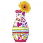 Ravensburger-12057 3D Puzzle - Girly Girls Edition - Flower Vase