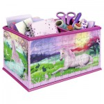 Ravensburger-12071 3D Puzzle - Girly Girls Edition - Storage Box