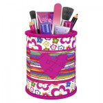 Ravensburger-12076 3D Puzzle - Girly Girls Edition - Pencil Cup