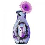Ravensburger-12080 3D Puzzle - Girly Girls Edition - Animal Trend Vase