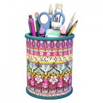 Puzzle  Ravensburger-12083 3D Sweetheart Storage: Mary Beth Pencil Cup back