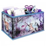 Ravensburger-12084 3D Puzzle - Girly Girls Edition - Storage Box Animal Trend