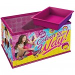 Ravensburger-12090 3D Puzzle - Girly Girls Edition - Storage Box: Soy Luna