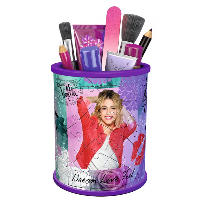 3D Puzzle - Girly Girls Edition - Violetta