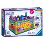 Ravensburger-12097 3D Puzzle - Girly Girls Edition - Storage Box Owl
