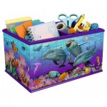 Ravensburger-12115 3D Puzzle - Storage Box: Underwater World