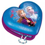 Ravensburger-12120 3D Puzzle - Heart Box - Frozen II