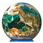 Ravensburger-12127 Ball Puzzle - Dinosaurs