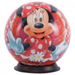 Ravensburger-12139 Puzzle Ball - Minnie