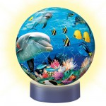 Ravensburger-12143 Jigsaw Puzzle - 72 Pieces - Lights Up in the Dark : Underwater World