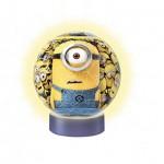 Ravensburger-12168 3D Puzzle-Ball - Minions