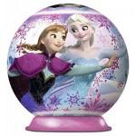Ravensburger-12173 Frozen - 3D Puzzle-Ball