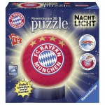 Ravensburger-12177 3D Jigsaw Puzzle - FC Bayern