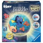 Ravensburger-12181 3D Jigsaw Puzzle with LED - Dory