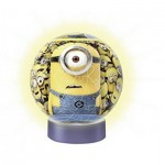 Ravensburger-12185 3D Jigsaw Puzzle with LED - Minions