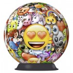 Ravensburger-12198 3D Jigsaw Puzzle - Emoji