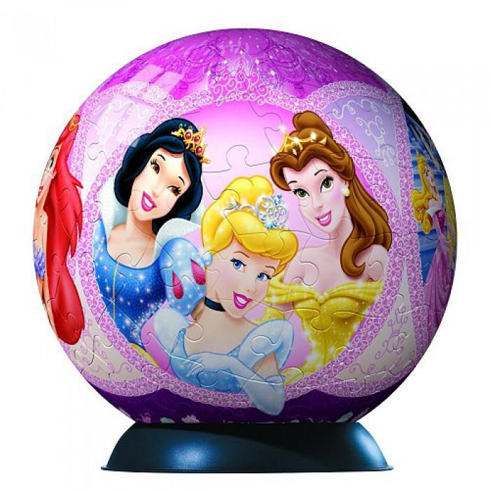 Puzzle Ball - 108 Pieces - Disney Princess