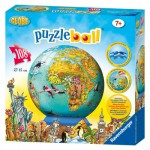 Ravensburger-12212 Puzzleball Globe