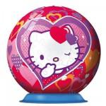 Ravensburger-12213 Puzzle Ball - 108 Pieces - Hello Kitty