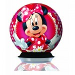 Ravensburger-12234 3D Jigsaw Puzzle - Minnie
