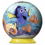 Ravensburger-12264 3D Jigsaw Puzzle - Finding Dory