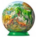 Ravensburger-12267 3D Jigsaw Puzzle - Dinosaurs