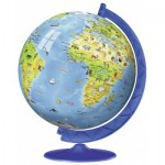 Ravensburger-12342 3D Jigsaw Puzzle - World Globe in English