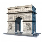 Ravensburger-12514 3D Puzzle - The Arc de Triomphe, Paris