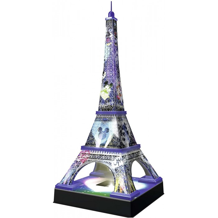 3D Puzzle with LED - Disney Eiffel Tower