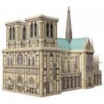 Ravensburger-12523 3D Puzzle - Notre Dame, France
