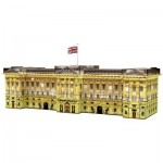 Ravensburger-12529 3D Puzzle - Buckingham Palace by Night