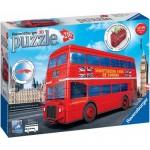 Ravensburger-12534 3D Puzzle - London Bus