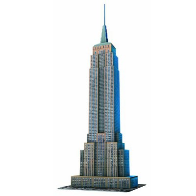 Ravensburger-12553 3D Puzzle - 216 Pieces - Empire State Building, New York