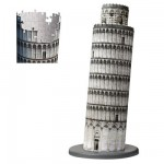 Ravensburger-12557 3D Puzzle - 216 Pieces : Leaning Tower of Pisa
