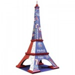 Ravensburger-12560 3D Jigsaw Puzzle - PSG Eiffel Tower