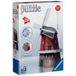 Ravensburger-12563 3D Puzzle - Windmill