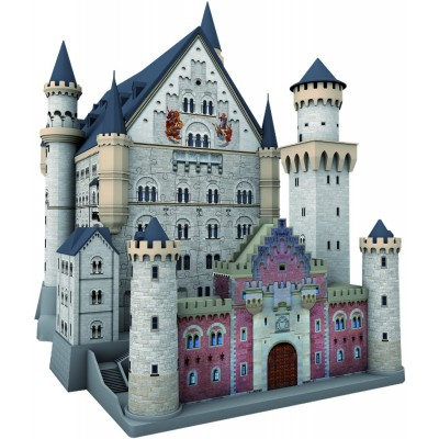 Ravensburger-12573 3D Jigsaw Puzzle - Neuschwanstein Castle
