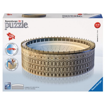Ravensburger-12578 3D Puzzle - The Coliseum