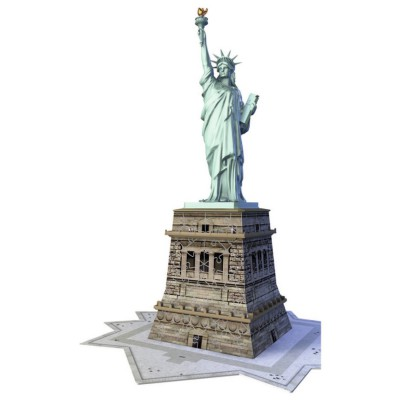 Ravensburger-12584 3D Puzzle - New York: Statue of Freedom